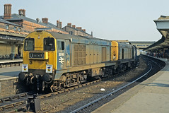 20193 & 20037 Derby 30May78 (david.hayes77) Tags: fisherman jolly derby 20037 20193 class20