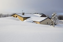 Neige immaculée  -  Spotless snow (Philippe Haumesser Photographies (+ 6000 000 view)) Tags: winter house snow france mountains nature landscape hiver alsace neige paysage maison bâtiment vosges elsass auberge montagnes ballondalsace territoiredebelfort nikond7000 mygearandme dblringexcellence tplringexcellence flickrstruereflection1 flickrstruereflection2 flickrstruereflection3 flickrstruereflection4 eltringexcellence