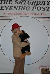 Pam (Winnipeg Art Gallery) Tags: art museum studio gallery winnipeg manitoba wag normanrockwell saturdayeveningpost winnipegartgallery americanchroniclestheartofnormanrockwell