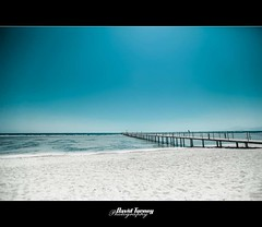 Lucky Sharm (David Turney | www.davidturneyphotography.com) Tags: ocean sea beach pier seaside sand jetty sandy shoreline egypt bluesky shore whitesand sharm