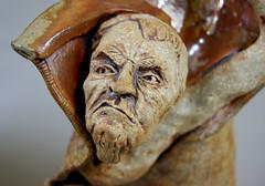 Addiction's Escape - Close-up (Paul Chenoweth) Tags: ceramic bottle sculptural stoneware paulchenoweth highfired addictionsescape