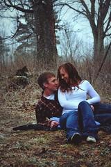 (kelly.grace) Tags: boy girl 50mm nikon couple farm country redhead flannel d3100