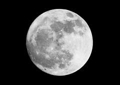 Moon Handheld DSLR (Mark Philpott) Tags: moon night canon eos is ii crop tc handheld l astronomy 500mm ef f4 14x 16x