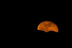 Moonrise (BHCMBailey) Tags: moon night oregon ridge moonrise astrophotography rise