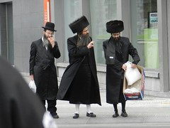 Men In Black (JosDay) Tags: belgium traditional jewish antwerpen anvers meninblack