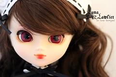 Luna Lawliet ~ pullip Stica (Luna 愛良い) Tags: brown stock wig pullip stica