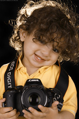 Little Photographer! (Abdulaziz Al-furaydi) Tags: boy portrait smile canon studio kid photographer child little d smiles indoor 600  600d         canon600      canon600d 600 600