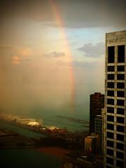 St. Patrick's Day - Rainbow - Pot of Gold - Chicago Navy Pier (doug.siefken) Tags: chicago green art saint st gold illinois rainbow day o explore pot navypier patricks stpatricksday explored lx3 siefken dougsiefken