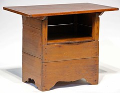 65. Primitive Lift Top Bench/Table
