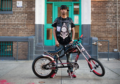 Lex: East New York, Brooklyn (Chris Arnade) Tags: brooklyn eastnewyork bikesofnyc chrisarnade bigballersbikeclub