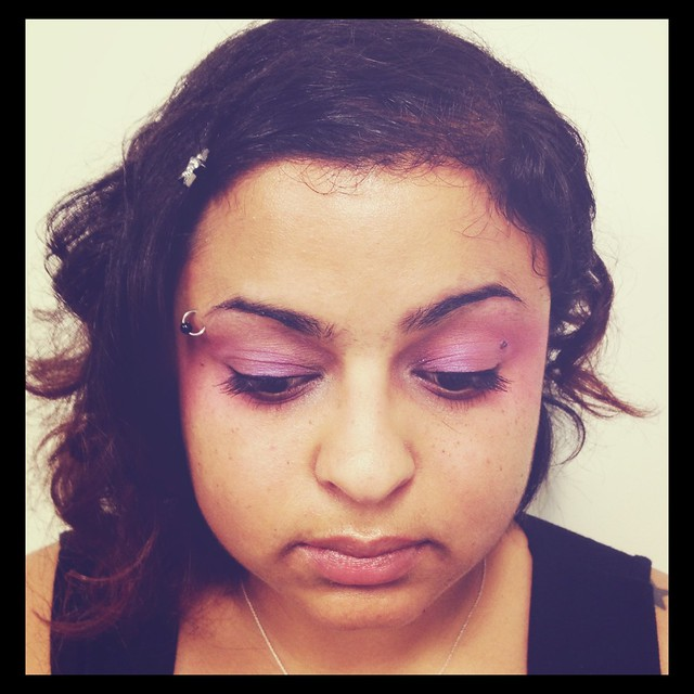 "My EFFIE Trinket makeup for ""The Hunger Games"""