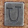 Pewter Ransom Font U (Leo Reynolds) Tags: canon eos iso100 u letter 60mm uuu f8 oneletter letterset 0ev 025sec 40d hpexif grouponeletter letterpewter letterpewterransom xsquarex xleol30x xratio1x1x xxx2012xxx