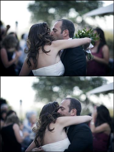 Beso - Abrazo - Fotografo para boda en Madrid - Edward Olive