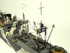 1/700 scale IJN Seaplane Tender Kimikawa Maru - Construction phase at 90% (AC Studio) Tags: world 2 two scale japanese boat model war ship models navy vessel plastic maritime ww2 imperial mast modelling making waterline warship maru 1700 ijn modeller pitroad imperialjapanesenavy kimikawa 君川丸