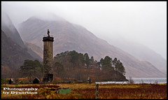 The Glenfinnan Monument (Dysartian) Tags: scotland lochshiel glenfinnan jacobites scottishhighlands bonnieprincecharlie highlandsandislands glenfinnanmonument dysartian photographybydysartian mygearandme mygearandmepremium mygearandmebronze 1745rebellion raisingthejacobitestandard