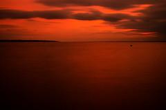 DSC_0857 (Mark J Hall) Tags: longexposure sea seascape clouds 35mm pebbles hampshire slowshutter 2012 gosport markhall stokesbay nikond7000