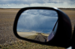 A Welcome Sight... (C-Dals) Tags: sky storm clouds landscape mirror nikon alberta prairie nikkor 1855mmf3556gvr d5100 tp164