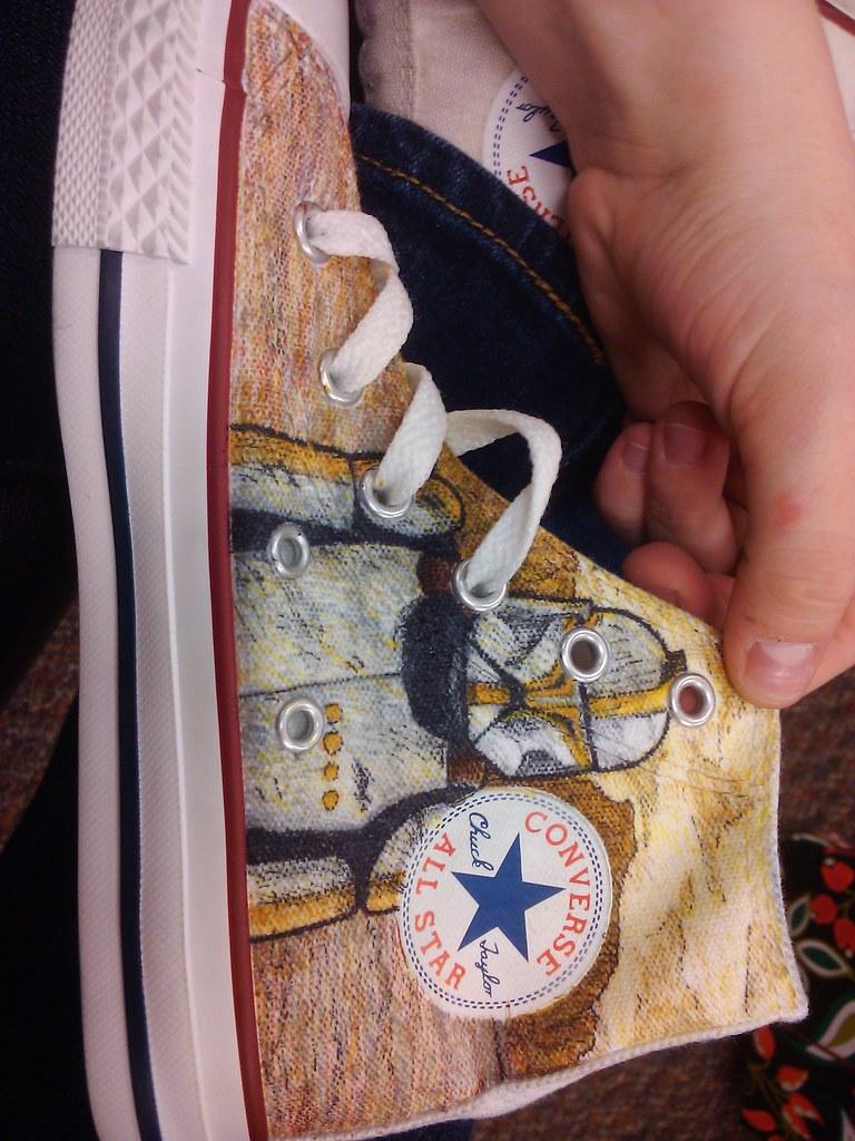 128cf20c111f6c Star Wars (fallonkeegan) Tags  storm trooper star shoes yoda converse obi  anakin lightsaber