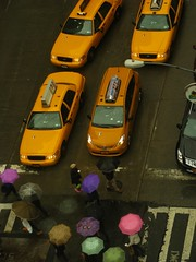 taxis, umbrellas, NYC (Dan_DC) Tags: nyc newyorkcity symbol manhattan stock business license editorial feature symbolic rf imagebank royaltyfree symbolize flatfee laboremployment