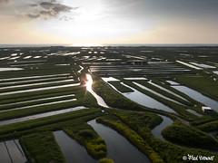 Marais de Noirmoutier en fin de journée (Fred YVONNE) Tags: kap noirmoutier marais 85 kiteaerialphotography vendée