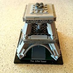 Lego - Eiffel Tower Progress