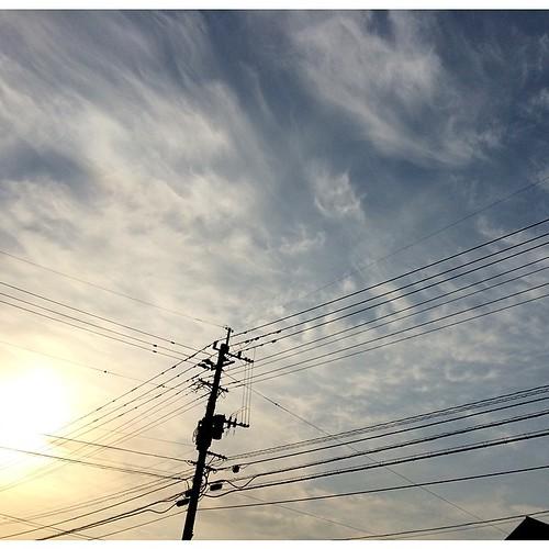 おはようさん♪♪  春らしい穏やかな朝になった長崎・大村、明け方は少し肌寒さを感じたけど、陽が上るとそれもなくなりました  4月もあと一週間、あっという間ですね! 新入社員の初々しい姿も見慣れて来ましたが、自分の年齢を改めて感じます  まっ、やれるだけ頑張って行こうと思います♪♪  皆さまも充実の木曜日を♪♪
