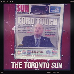 The Toronto Sun - Tuesday, January 11, 2011 - A load of bullshit (designwallah) Tags: toronto ontario canada failure newspapers iphone fail newspaperboxes crackhead robford crackmayor hipstamatic