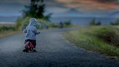 J learning to balance (michaelinvan) Tags: sunset portrait nova canon toddler richmond f2 bluehour terra 135mm 5d2