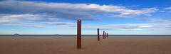 (toni jara) Tags: air playa perspectiva cabanyal cabaal malvarrosa panormica airelibre pobladosmartimos