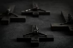 Crosses (Mientsje) Tags: st dark lucifer cross jesus goth crosses satanic jezus gohtic
