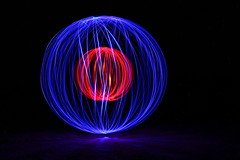 Orb (Melissa Macgill) Tags: light lightpainting orb outback sa southaustralia