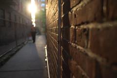 short-cut to Cabrini (Susan NYC) Tags: street nyc sunset wall 4 shortcut 20160512l1000369jpg