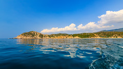 Vinh Hy Bay (caophi) Tags: ocean cloud reflection nature landscape bay wideangle select 1635 vinhhy