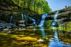 Ball's Fall Ontario Canada (AncasterZ) Tags: ontario canada conservation falls waterfalls ballsfalls
