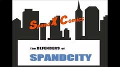 "Spiderman trapped by Parafin""O"" (Spandxcomics) Tags: fetish glue spiderman spandex peril lycra gunge"
