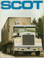 1976 Scot truck sales brochure, page 1 (JarvisEye) Tags: canada truck advertising photo canadian lorry scot photograph publicity brochure 1976 heavyduty