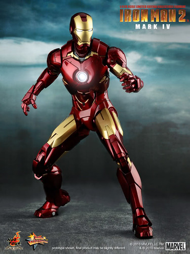 Hot Toys Iron Man, mark IV