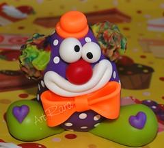 Toy Palhao Disponvel (Val - Art Rara) Tags: circo biscuit palhao porcelanafria