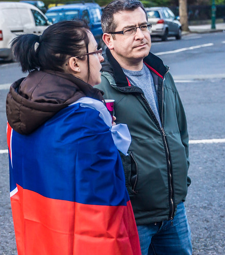 Protesting Outside The Embassy of the Slovak Republic
