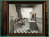 Mais où est la sortie ! (Tim Deschanel) Tags: life door art café stairs landscape tim hand main sl second crayon escher paysage exploration escalier deschanel creators epoch paradoxe npirl beetlebones