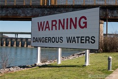 Warning Dangerous Waters by hankinsphoto.com, on Flickr