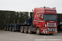 Scania R580 (legotrucks) Tags: scania r580 nooteboom rseries spreen ballasttrailer rserie boekestijn worldtruck