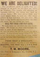 T.W. Moore advertisement - Trenton NJ (Blake Bolinger) Tags: newspaper newjersey nj advertisement business historical mercercounty trenton twmoore