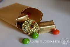 Treat Box Filled (Maggie Muggins Designs) Tags: birthday party silhouette gold rainbow sd cameo shape stpatricksday favors potofgold littlegifts treatbox maggiemugginsdesigns freeshapeparty