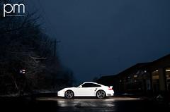 Porsche 911 Turbo... (patmccuephotography) Tags: ohio usa white cincinnati 911 turbo porsche snowymorning nikond300 alienbee800s