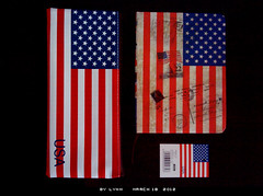 star-spangled banner collection (va-lynn-tine) Tags: usa america paper flag bags notebooks stationeries thestarspangledbanner