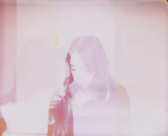 (Leanne Surfleet) Tags: selfportrait colour film polaroid doubleexposure spectra expired leannesurfleet