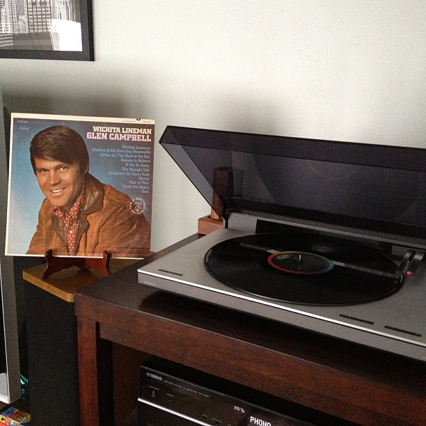 Vinyl session: GLEN CAMPBELL - Wichita Lineman