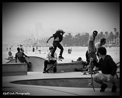 Flyin' (Jeff Gish Photography) Tags: california park boy youth skateboarding board young skate skateboard venicebeach