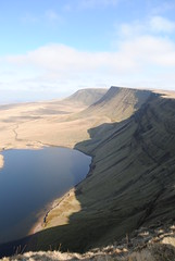 The Black Mountain, Brecon Beacons (Laura Sweet) Tags: blue vacation sky mountain holiday mountains clouds walking climb holidays walk hills climbing mountaineering summit peaks vacations summits brecons6311 mountainrangesummitphotoadventure